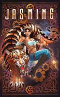 Steampunk Jasmine by Eddy-Swan-Colors
