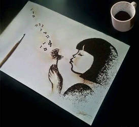 Ground coffee creation by jullie-jullie