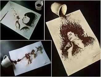 My coffee creations by jullie-jullie