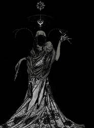 The Hierophant by Melancholita