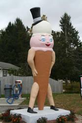 The Douglas Ice Cream Lady by dre4mass