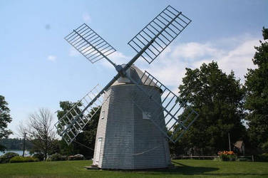 Orleans Massachusetts Windmill by dre4mass