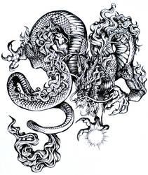 Dragon Ink by Kawiku