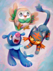 New Starters! by Kawiku