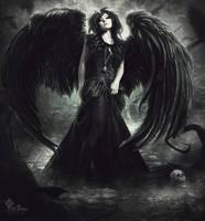 raven goddess by LilifIlane