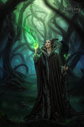 MALEFICENT - THORN FOREST by LilifIlane