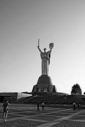 The Motherland Monument by evilcrowbar