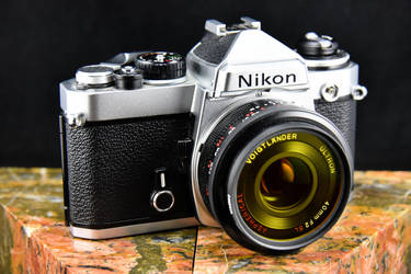 Nikon FE by MotorCrazy