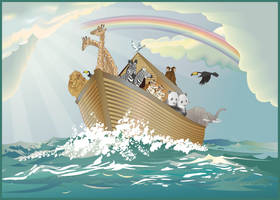 Noah's Ark by DLindsey