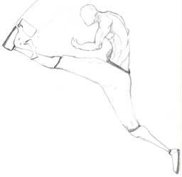 fly kick by Majeed-Q8