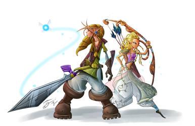 The legend of Link by ZeyJin
