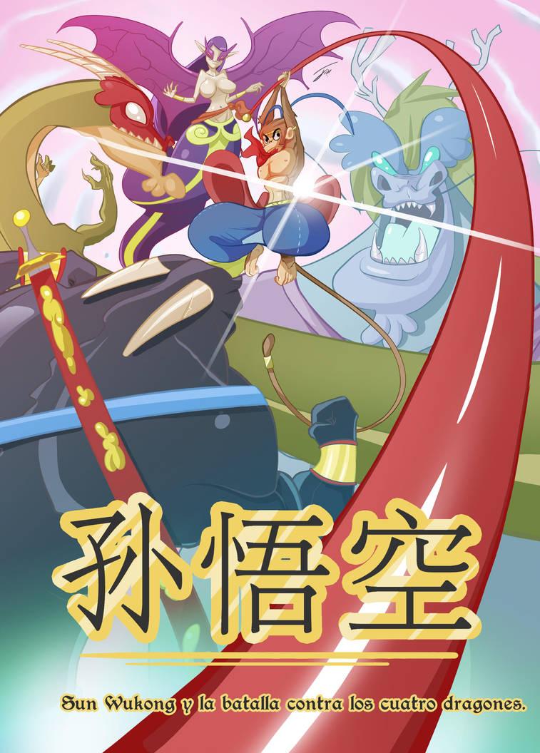 Sun Wukong y la batalla contra los cuatro dragones by ZeyJin
