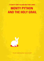 No036 My Monty Python And The Holy Grail minimal by Chungkong