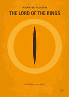 No039 My Lord of the Rings minimal movie poster by Chungkong