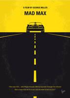 No051 My Mad Max minimal movie poster by Chungkong