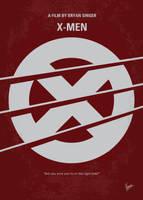 No123 My Xmen minimal movie poster by Chungkong