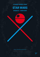 My STAR WARS IV A New Hope minimal poster by Chungkong