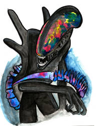 Alien by buttmuffinzombie