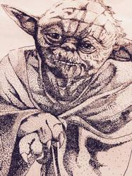 Yoda wip by buttmuffinzombie