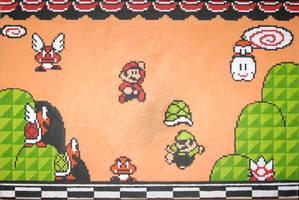 Super Mario 3 Intro by Squarepainter