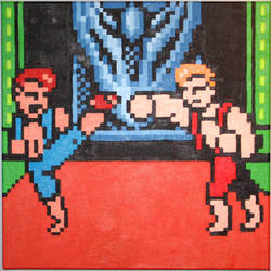 The Lee Brothers Square Off by Squarepainter