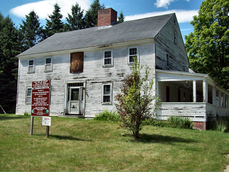 Daniel Webster house by Sterlingware