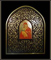 the virgin mary and christ by bensinn