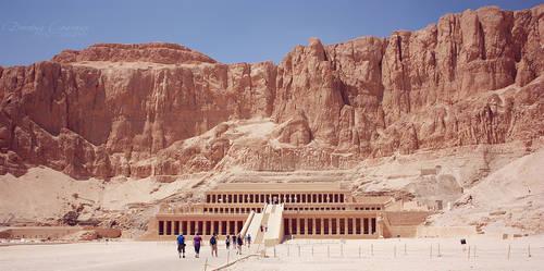 Hatshepsut's Temple by DorotejaC