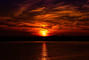 Red Sunset 1 by AdventuresInAperture