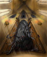 Temple of The Giant Spider by Xevel