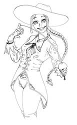 Musketeer Girl by Xevel