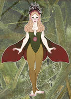SET PRICE: Forest fairy (CLOSED) by Silver-Monster