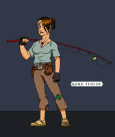 Character Study:  Kara Itolde by Timetower