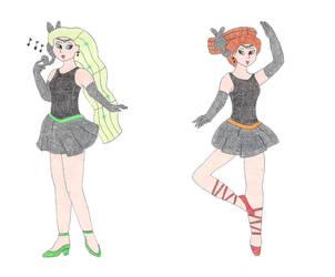 Sailor Meloetta by DoctorEvil06