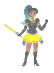 Sailor Zekrom by DoctorEvil06