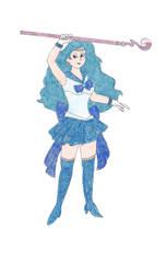 Sailor Kyogre by DoctorEvil06