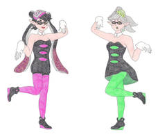 The Squid Sisters by DoctorEvil06