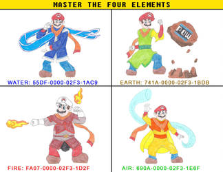 Master the Four Elements by DoctorEvil06