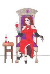 Kneel Before Your Queen by DoctorEvil06
