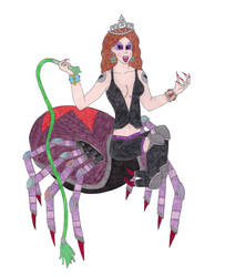 Queen Malanite's Spider Form by DoctorEvil06