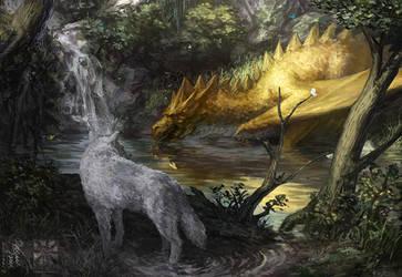 TOTF:A Golden Creature by Zezhou