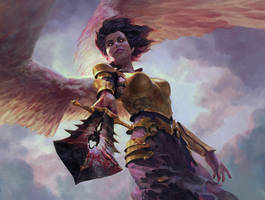 Angelic Purge_MTG by Zezhou