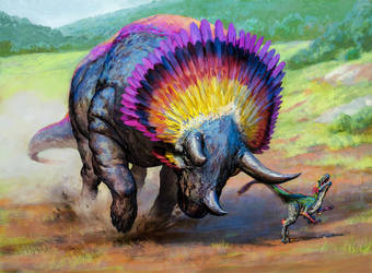 Goring Ceratops by Zezhou