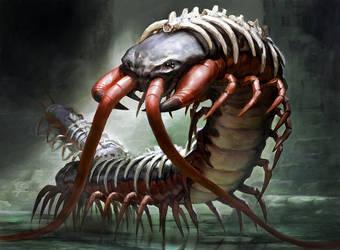 Spinal Centipede by Zezhou