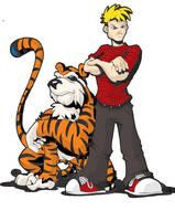 Calvin and Hobbes by btibke