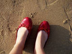 Red shoes by greenoveralls