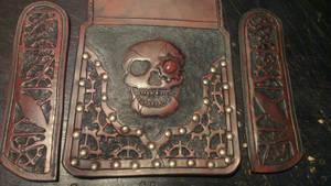 Skull bag WIP by davevdveer