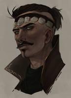 Dorian Pavus portrait by Luccorvus