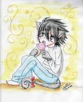 Death Note: Kitty Eru by PurpleGel