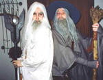 Saruman and Gandalf Cosplay by TatharielCreations